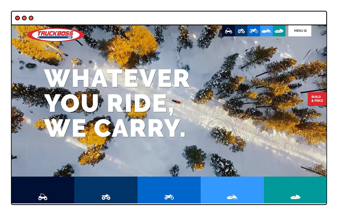 Truckboss Website Design