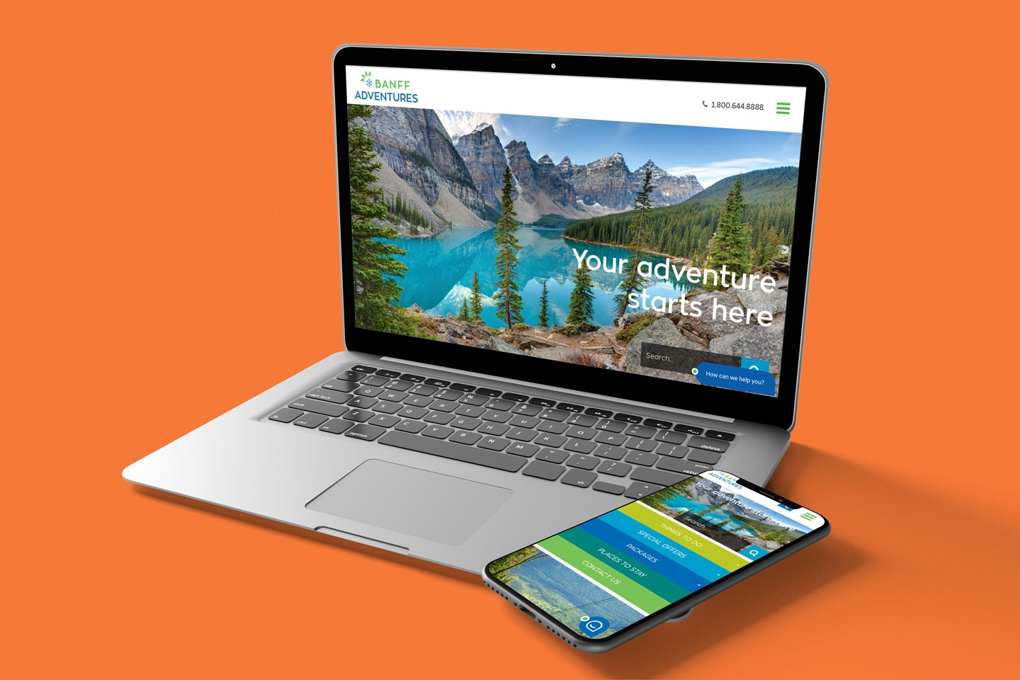 Banff Adventures Unlimited Custom WordPress, Divi Builder, Booking System Integration